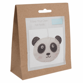Felt Decoration Kit: Panda By Trimits