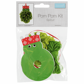 Christmas Sprout Pom Pom Decoration Kit By Groves And Banks