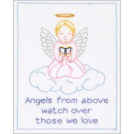 Precious Angel Cloth Sampler by Jack Dempsey