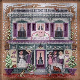 La Fleur Boutique Cross Stitch Kit by Mill Hill