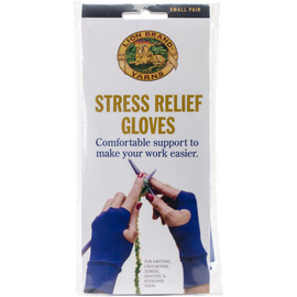 Stress Relief Gloves by Lion Brand - Small