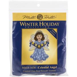 Celestial Angel Cross Stitch Kit by Mill Hill