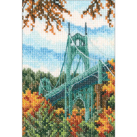 St Johns bridge Counted Cross Stitch Kit  by RTO