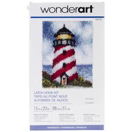 "Sailors beacon Latch Hook Kit 15""X20"" by Caron Wonderart"