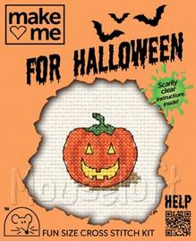 Pumpkin cross stitch kit by Mouseloft