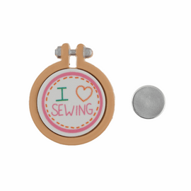 Needle Minder I love Sewing