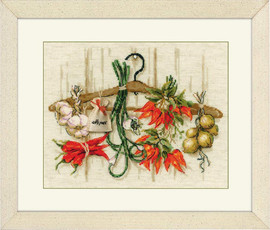 Spicy Condiments Cross Stitch Kit by Riolis