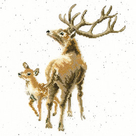 Wild at Heart Cross Stitch Kit by Wrendales Designs