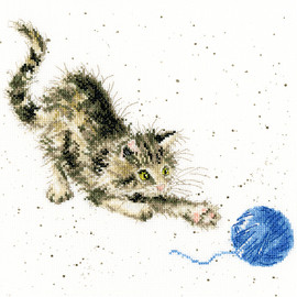 Kitty Cross Stitch Kit By Wrendale Designs