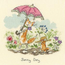 Sunny Days Cross Stitch Kit By Bothy threads