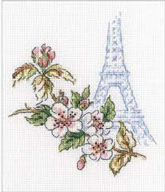 Window To Paris (16 Count) Cross Stitch Kit By RTO