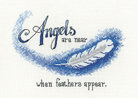 Angels are near Cross Stitch Kit by Hcrafts