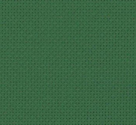 Christmas Green - Zweigart 14 count Stern Aida Xmas Green by the Metre