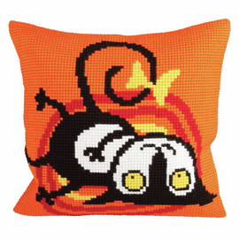 Kitty Chunky Cross Stitch Kit by Vervaco