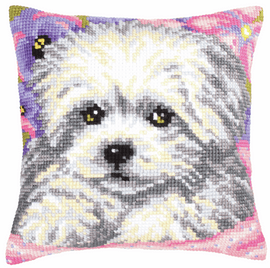 Little Doggy Chunky Cross Stitch Kit by Vervaco