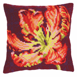 Red Tulip Chunky Cross Stitch Kit by Vervaco
