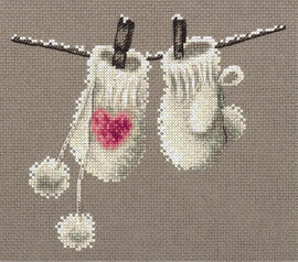 Panna Winter Mittens Counted Cross Stitch Kit