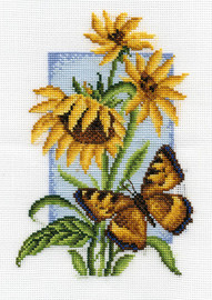 Tortoiseshell Counted Cross Stitch Kit By Panna