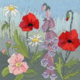 Seasons: Summer Long Stitch Kit by Bothy Threads