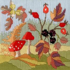 Seasons: Autumn Long Stitch Kit by Bothy Threads