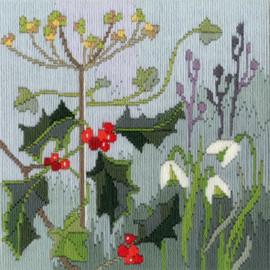 Seasons: Winter Long Stitch Kit by Bothy Threads