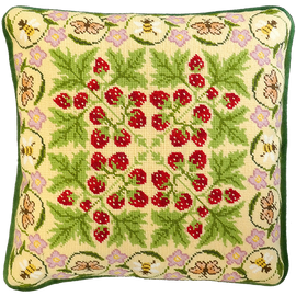 Strawberry Patch Tapestry Kit by Bothy Threads