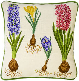 Hyacinth And Crocus Tapestry Kit by Bothy Threads