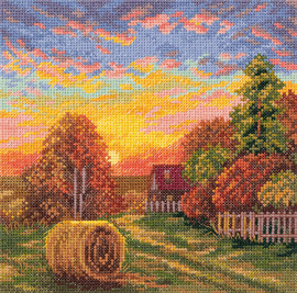 Autumn Dew Counted Cross Stitch Kit by Panna
