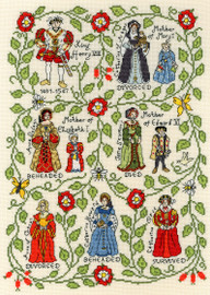 Henry VIII Cross Stitch Kit by Bothy Threads