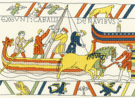 The Norman's Landing - Bayeux Cross Stitch Kit by Bothy Threads