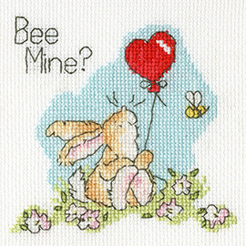Greeting Card – Bee Mine? By Bothy Threads