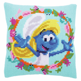 The Smurfs Smurfette Cross Stitch Kit