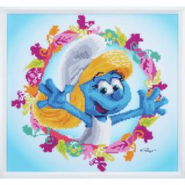 The Smurfs Smurfette Diamond Painting Kit:
