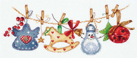 Christmas Tree Ornaments Kit by Panna