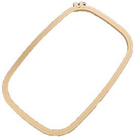 """Rectangular plastic hoop 10"""" x 15"""" By Siesta"""