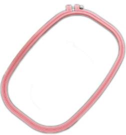 """Rectangular plastic hoop 8"""" x 12"""" By Siesta"""