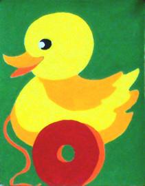 Duck Tapestry Kit By Gobelin L