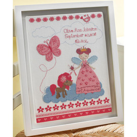 Fairy Tale Princess Counted Cross Stitch Kit by Bucilla