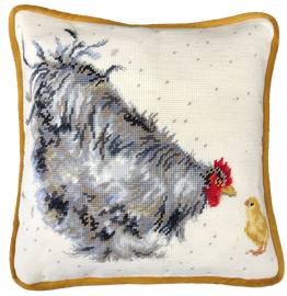 Mother Hen Tapestry Kit by Bothy Threads