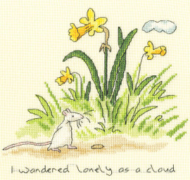 Lonely as a Cloud Cross Stitch Kit by Bothy Threads