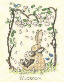 Blossom Cross Stitch Kit by Bothy Threads