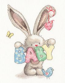 BABY Cross Stitch Kit by Bothy Threads