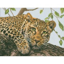 Leopard Stamped Canvas by Collection D'Art