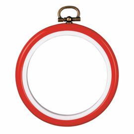 "Fit-It Flexi Frame: Plastic: 7.5cm (3""): Red"