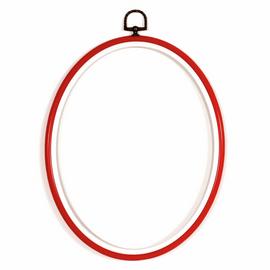 Fit-It Flexi Frame: Plastic: 10 x 14cm: Red