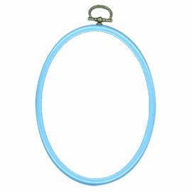 Fit-It Frame: Plastic: 10 x 14cm: Blue