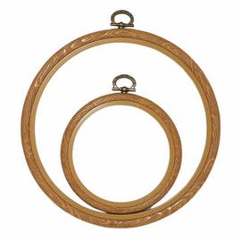 Fix-It Flexi Frame: Plastic: 10cm Diameter: Natural