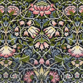 Bell Flower Cross Stitch Kit by Bothy Threads