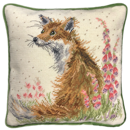 Amongst The Foxgloves Tapestry Kit by Bothy Threads