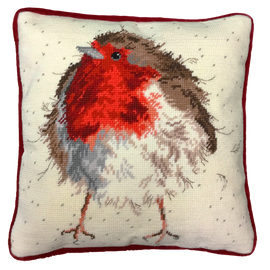 Jolly Robin Tapestry Kit by Bothy Threads